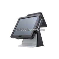 "RT-5200C Runtouch 15"" Fanfree 9.7"" dual screen High-end Touch POS"