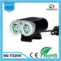 SG-T2200 Cree U2 Super Power Bright LED Road Bike Light with CE&RoHS
