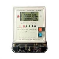 SINGLE-PHASE ELECTRONIC MULTI RATE ENERGY METER