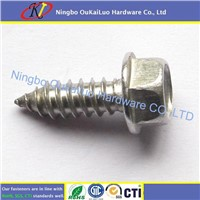 Stainless Steel Hex Washer Head Self Tapping Screws