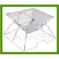 Stainless Steel Portable Folding Grill For Camping MW-A001