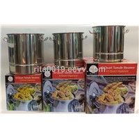 Stainless Steel Tamale Steamer Set