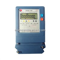 THREE PHASE ELECTRONIC WATTHOUR METER(LCD)