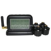 TPMS for passenger car with  external sensors