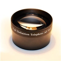 Telephoto Lens 58mm 2.0x for Camera