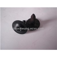 Speciality fasteners cold forming truss head six-lobe socket flange tapping screw