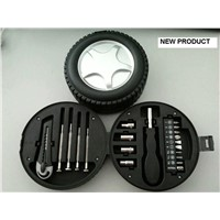 Tyre shape mini tool kit for promotion and mini tool set