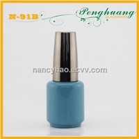 UV cap nail polih glass bottle with brush