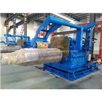 automatic steel strip recoiler