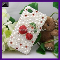 dazzling rhinestone pc cellular back shells