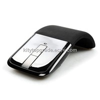 fashion design 2.4Ghz Folding touch wireless mouse