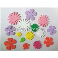 foamy sun flower craft shapes