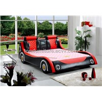 high quality multifunction leather bed with massage 518#