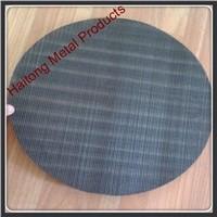 iron / carbon steel plastic extruder screen mesh disc