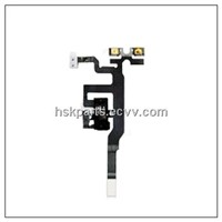 mobile phone audio flex cable headphone jcak for iphone 4s