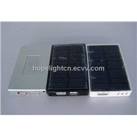 Multi Solar Charger with FM Radio, LED Light, Currency Detector Function