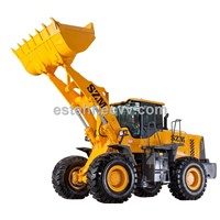 wheel loader 953L with 3 m3 , quick hitch and rated power of 162kw