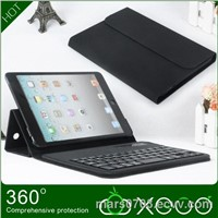 wholesales keyboard with leather case for ipad mini