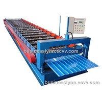 roll forming machine for roofing and siding material making