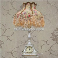 table lamp with clock, classic and modern table lampTD-1005