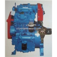 2105C Two Cylinder Water Cooled Marine Diesel Engine