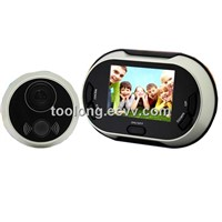 3.5inch Digital Door Viewer with Memory / Pinhole Camera