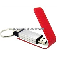 China Supplier 1GB 8GB 4GB 16GB Real  Leather USB Flash Stick