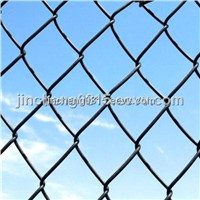 Green PVC Coated Chain Link Fence (50mm*50mm)
