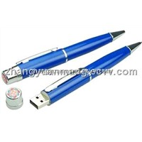 Hot sale pen USB flash drive 1GB/2GB/4GB/8GB customized logo