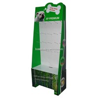 Pet Products Hook Display Stand with MDF Backboard