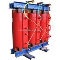 Dry-type distribution transformers with cast resin insulation