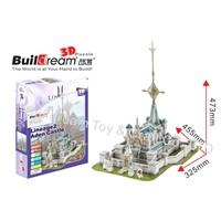 3D puzzle&Buildream BD-S017 Lineage2 Aden Castle