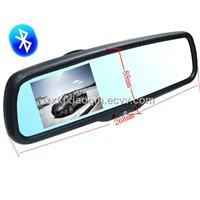 3.5 inch with bluetooth rearview mirror, special car rearview mirror