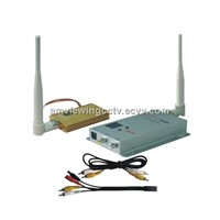 4CH 1.5W Wireless Audio&Video Transmitter Receiver
