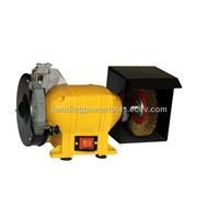 """6"""" Bench grinder with steel wire poshier"""