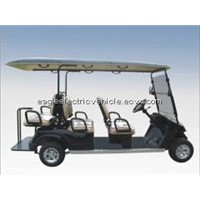 6 seater electric utility car EG2048KSF