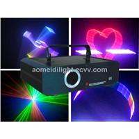800mw 3D rgb laser light