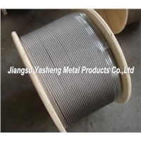 AISI316 7X7 4.0mm Stainless Steel Wire Rope
