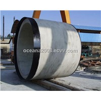 Big Diameter Concrete Pipe for Culvert , Water Drainage System