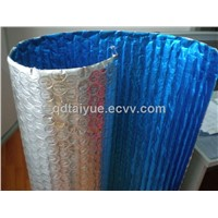 Bubble foil thermal Insulation with woven cloth