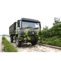 CHINA SINOTRUCK 4X4 ALL WHEEL DRIVE CARGO TRUCK 266/290/336/371/340/380HP, ERUO II/ EURO III