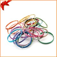 Colored craft round aluminum wire
