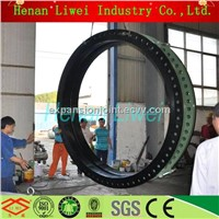 DN2800 rubber expansion joint bellows joint for Nuclear power