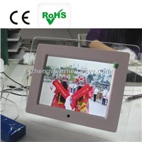 DPF manufacture ! good price digital photo frame 8 inch with digital LCD/LED screen jsc-801