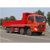 Dongfeng 8x4 340hp 16ton used tipper trucks
