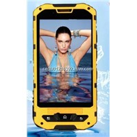 Dual card GSM Waterproof Dustproof Prevent Break Drop 3G Mobile Phone
