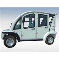 Electric personal carrier with hard door EG6043KF