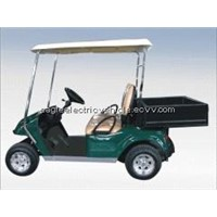 Electric utility car with short cargo box EG2028H
