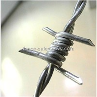 Electro Galvanized Barbed Wire (Manufacturer&exporter)