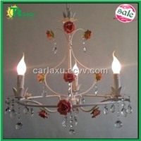 Fashion Modern Rose Flower 3 Lighting For Bedroom, Living room, Coffee Shop, ect